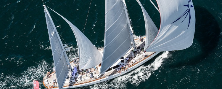 Luxury Ketch 'Tawera' claims Millennium Cup title for the third year